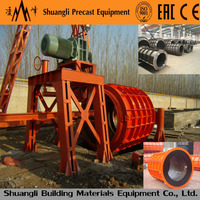 Spigot Socket reinforced Spun concrete pipe making machine
