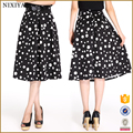 New Sample Women Summer Daily Wear A-Line Elegant Hmong Skirt