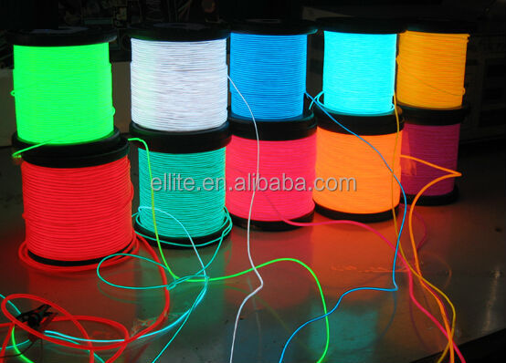 2017 wholesale cheap price lighting illuminated cable for decoration