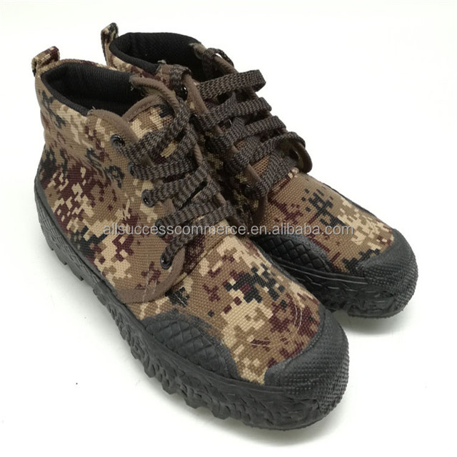 Modern prices leisure style woodland camouflage military rubber boots