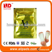 Transdermal foot plaster / detox foot patch