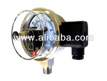 Electrical Contact Pressure Gauge with Cable Box