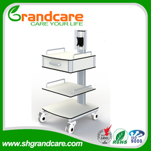 Smart EEG Device Trolley Equipment Cart For Hospital Emergency Attendance