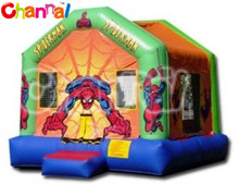 spider man bounce house, inflatable bouncer castle