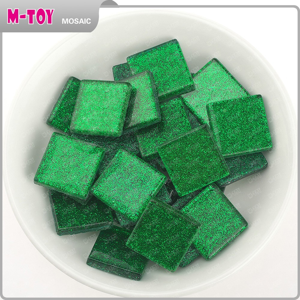 diy glass mosaic making craft waste material