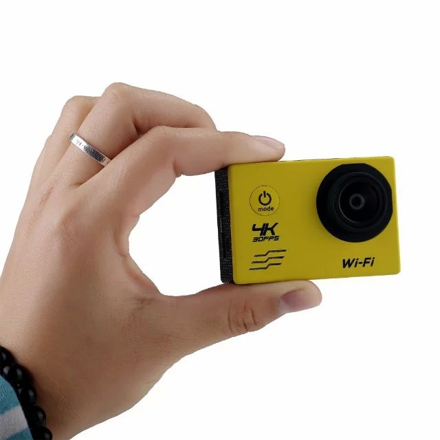 SDV-V61 2.0'' Inch waterproof Allwinner V3 IMX179 4k ultra hd action camera with wifi funtion