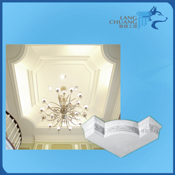 wonderful building decoration materialfiberglass gypsum Ceiling Trough