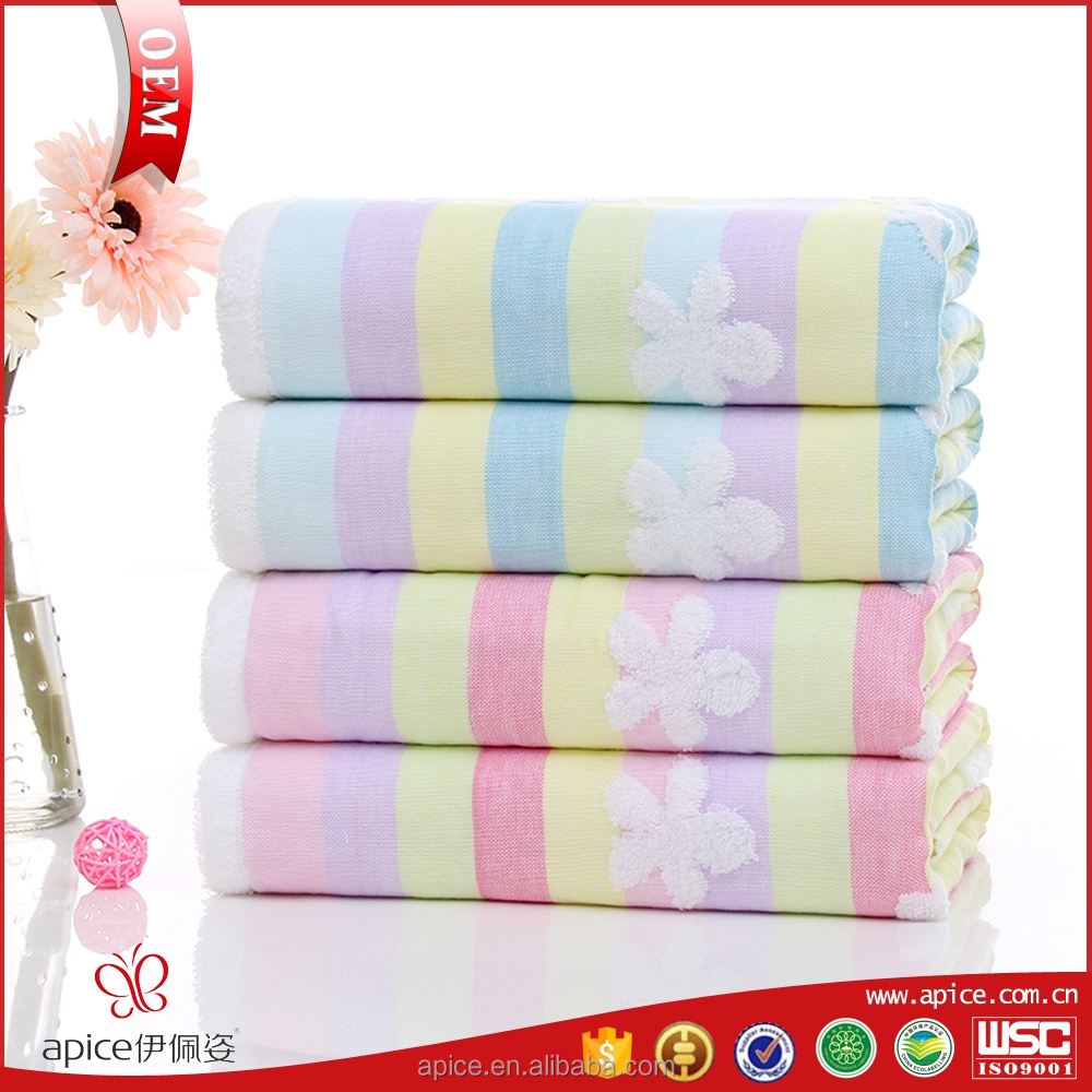 wholesale guangzhou microfibre baby bath towel