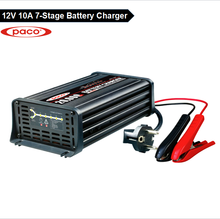 PACO Trade Assurance 20A 12V Intelligent Smart Automatic Car Motorcycle Lead Acid Battery Charger