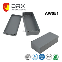 ip67 Die Cast outdoor WALL MOUNT Electronic Corrosion-Proof Aluminium Waterproof enclosure junction box with Cable Gland