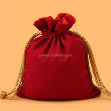 Factory Wholesale Multi function Chinese characteristics cotton fabric drawstring pouch jewelry bag