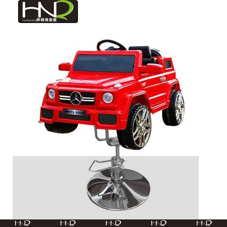 Salon chair with red toy car barber chair for children for kids salon equipment