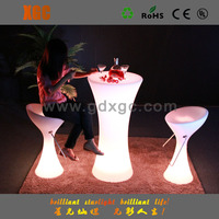 durable plastic outdoor table and chair set for Garden use