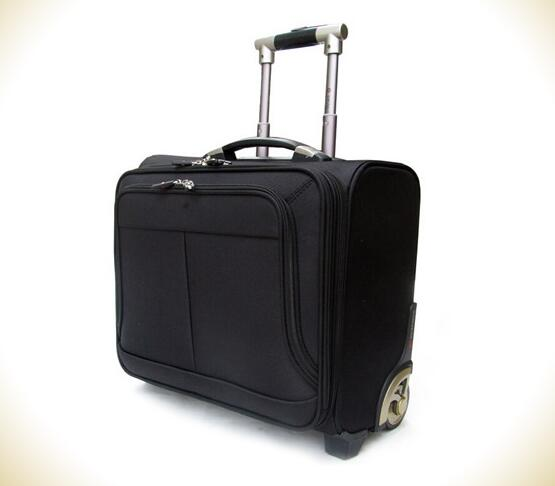 18inch pilot size carry on business travel laptop trolley bag