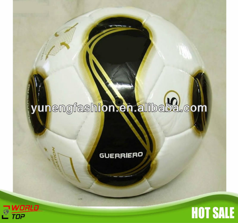machine stiched PVC soccer ball