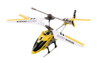 Yellow SYMA S107G 3 Channels Mini RC Helicopter with Gyro for Kids Toys Xmas Gift
