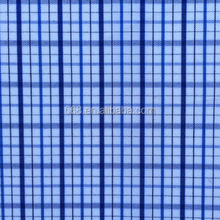 Wholesale plaid woven yarn dyed tee shirt fabric