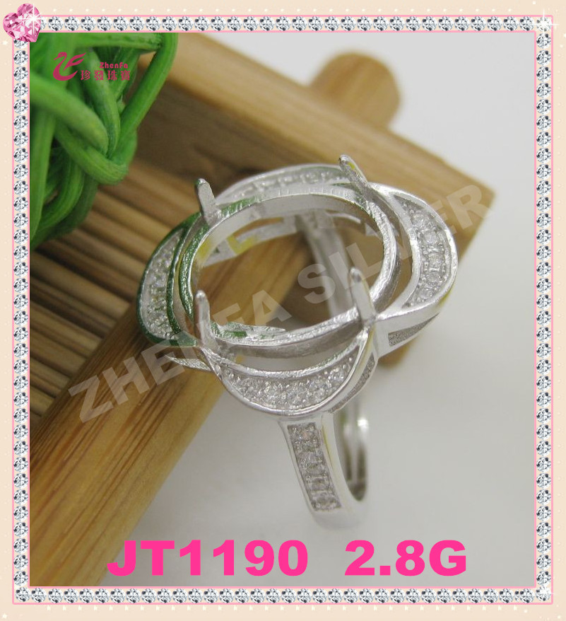 Jewelry ring top sale setting removable stone