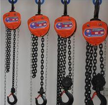 Vital 5 ton 10mm load chain diameter chain pulley blocks for Cargo lifting