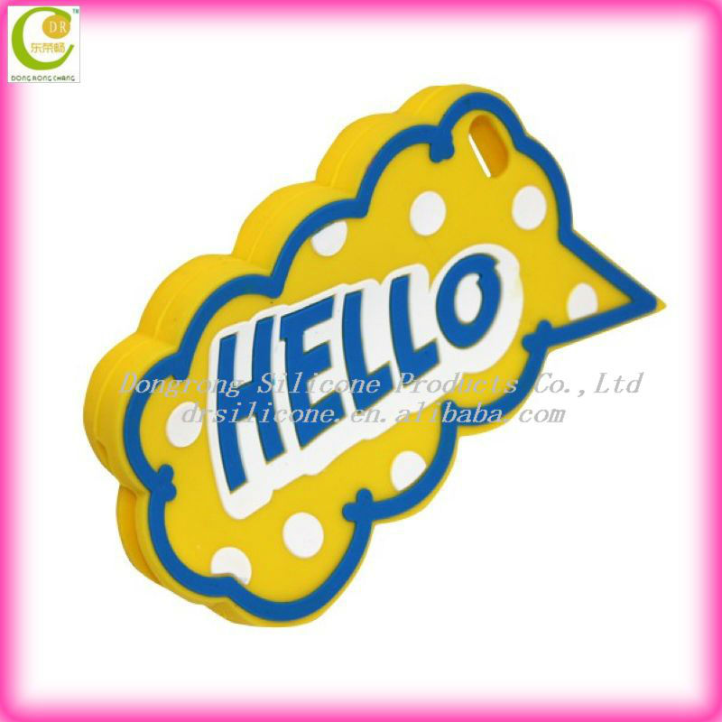 "Hot Sell Style Anti-Shock Hello Silicone Cell Phone Case for iPhone 5,for iPhone 5"" Original,for iPhone 5 Cases"