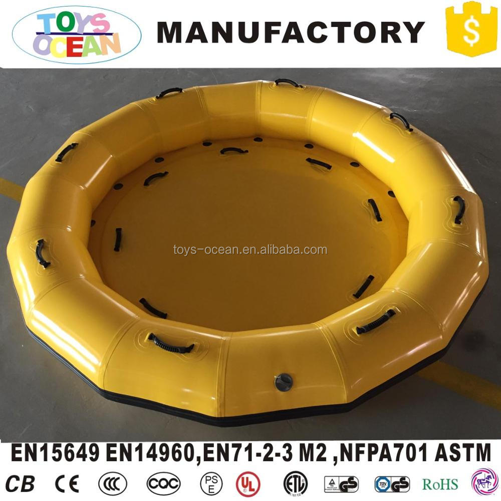 Inflatable Water Slide Boat Raft for Water Park Fiberglass Raft