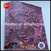 beautiful artificial pu leather for diary cover