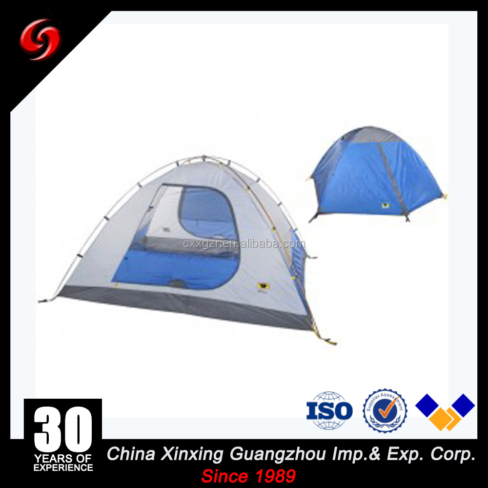 two layer PA300 Waterproof family Camping Hiking Tourist 2-3 Person outdoor Tent
