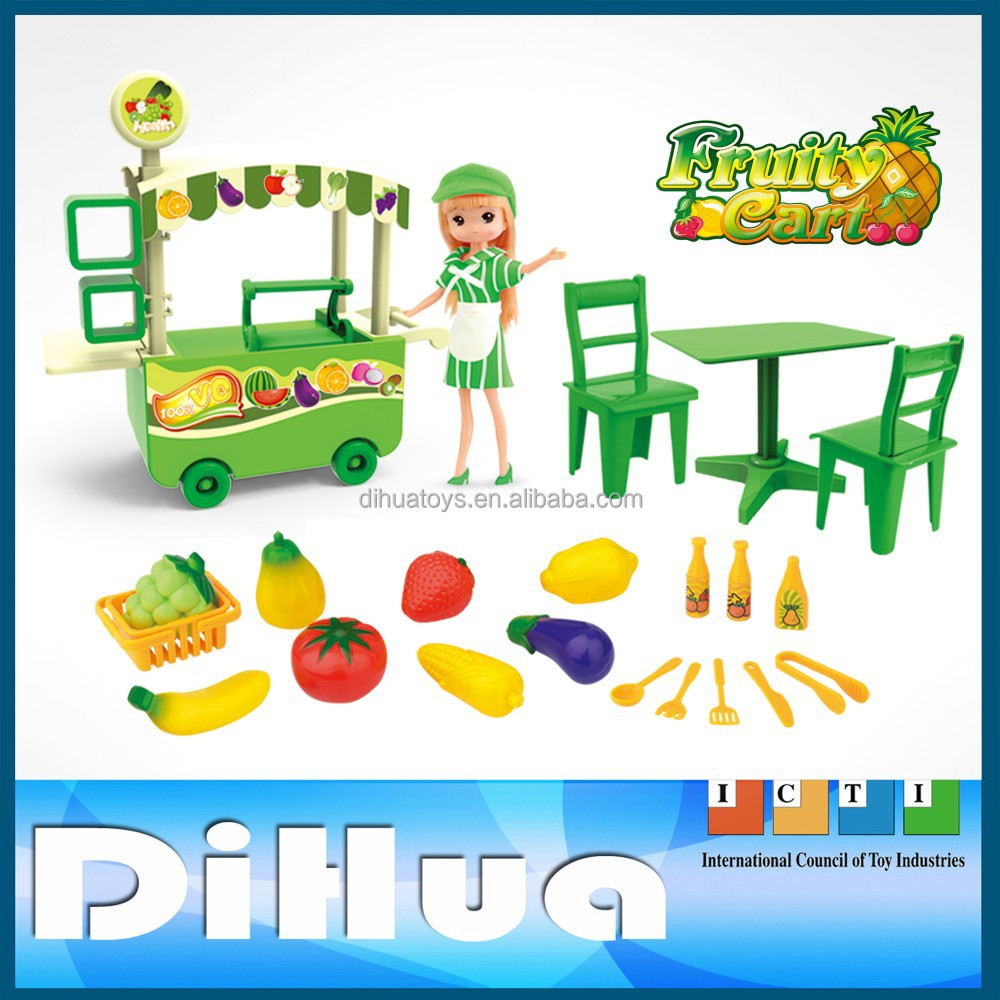 Pretend Play Kitchen Set Educational Diy Small Dining Car Toy - Buy ...
