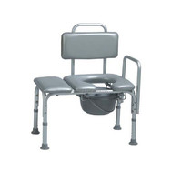 Modern extended seat with backrest shower toilet seat cover