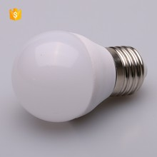 Lower Power Cost 3W to 6w G45 LED mini globe with rohs compliant
