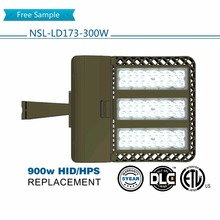 DLC ETL listed IP65 led street lights shoebox area lighting retrofits with 5 yeara warranty 300W