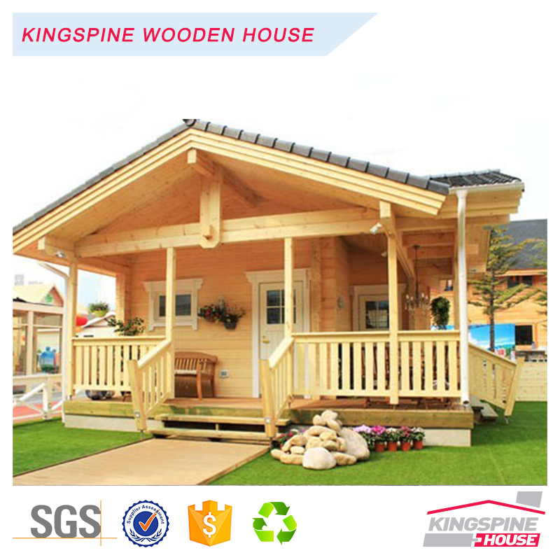 Low Price 1-floor design Wooden Prefab Home 81.19 m2 Log House KPL-046