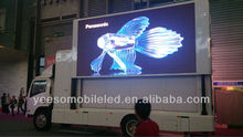 Mobile video led advertising truck, mobile outdoor truck led display
