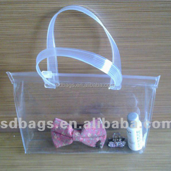 clear plastic display bags