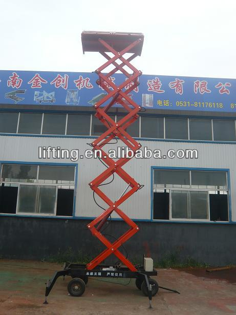 hydraulic arm lift aerial lift