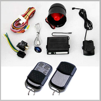 keyless entry car alarm system/octopus car alarm with trunk release for sale in China