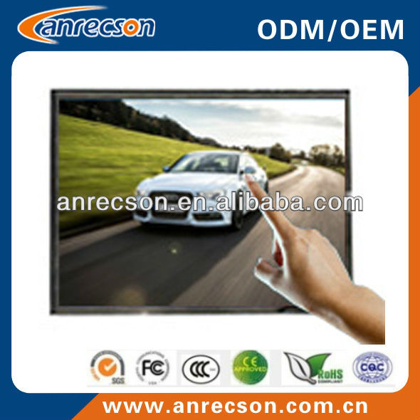15 inch usb open frame lcd monitor touch screen