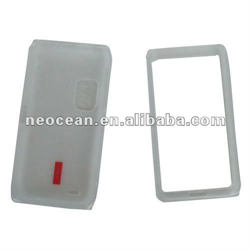Mobile phone TPU case for HTC HD3,accept paypal