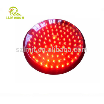 High quality material long performance life led traffic signal light module