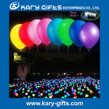 LED balloon light flashing balloons inflatable led balloon for wedding event
