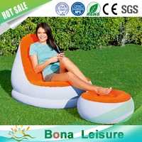 Hot Sale Inflatable PVC Sofa Beds Relaxing Sofas