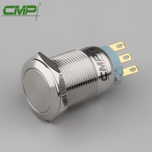 CMP 19mm metal waterproof electrical start stop button switches(TUV CE)