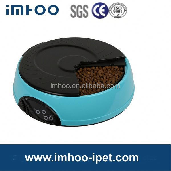 4 Meal LCD Automatic Pet Feeder for dogs & cats super quality magnetic pet bowl