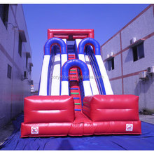 Cheap price big kahuna inflatable water slide/kids water pool playground