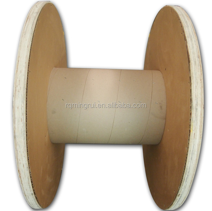 Ruiming Plywood Cable Drum With Pvc Barrel - Buy Cable Drum,Plywood ...