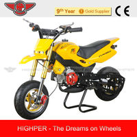 2013 new High Qualty 49cc 2 stroke Cross Mini Motard, Pocket Bike for Kids with CE