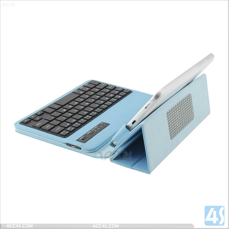 Universal 7 inch Tablet PC Bluetooth Keyboard Leather Case (for android, IOS) P-UNI7TABKBCASE004