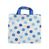 Plastic Shopping Bag With Handle Eco Friendly Full Color Tote Bag