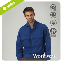 Blue Breathable Waterproof Windproof Ripstop fabric Durable Work wear Shirt