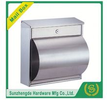 SMB-011SS China Factory Price 3 Doors Galvanized Cast Iron Letter Post Box